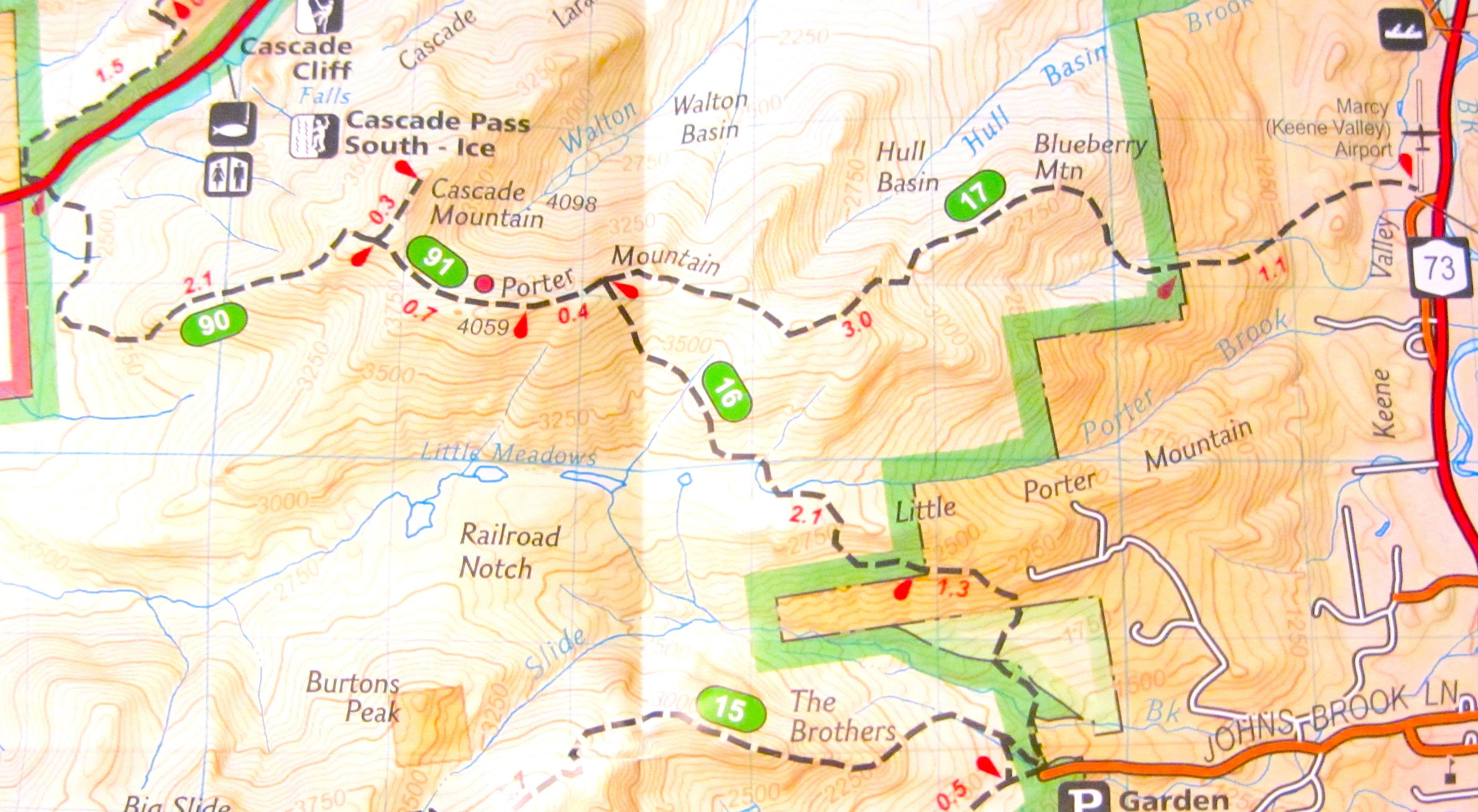 Cascade Mountain Finding North - Cascade mountains on us map